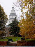 State House 1772-1779  and US Capitol from 1783 to 1784  Maryland  USA