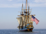 Tall Ship the Kalmar Nyckel  Chesapeake Bay  Maryland  USA