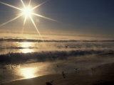 Ocean on Winter Morning  Florida  USA