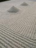 The Great Ocean Rock  Daisen-In Zen Garden  Daitokuji Temple  Kyoto  Honshu  Japan