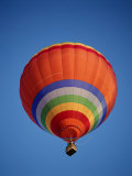 Colorful Hot Air Balloon in Sky  Albuquerque  New Mexico  USA