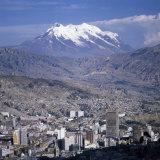 La Paz, Bolivia Papier Photo