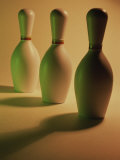 Three Bowling Pins in a Line