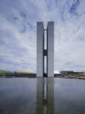 Congress Building  Brasilia  Brazil