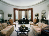 Oval Office the White House Washington  DC USA