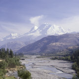 Huandoy  Huascaran and Alpamayo Mountains  Peru