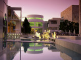 Getty Center  Los Angeles  California  USA