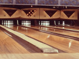 Highly Polished Bowling Lanes