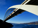 Roosevelt Lake Bridge  Arizona  USA