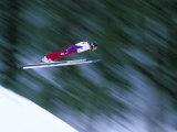 Nordic Ski Jumping  Steamboat Springs  Colorado  USA