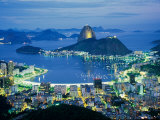 Sugar Loaf Mountain  Rio de Janeiro  Brazil