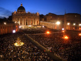 Pope John Paul II's 25th Anniversary Mass