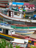 Colorful Boats  Panama City  Panama