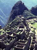 The the Inca Citadel of Machu Picchu