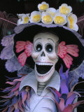 Skeletons  Day of the Dead  Paper Mache Sculpture  Oaxaca  Mexico