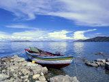 Isla Del Sol  Lake Titcaca  Bolivia