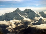 The Southern Face of Mount Everest Papier Photo