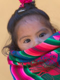 Portrait of a Young Indian Girl  Cusco  Peru
