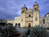 Santo Domingo Church  Oaxaca  Mexico