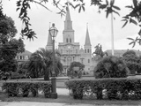 The Famed Old St Louis Cathedral Faces Jackson Square or Place D&#39;Armes