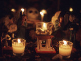 Day of the Dead Night Vigil Details  Oaxaca  Mexico