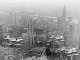 US Navy Observation Planes Fly Over New York City