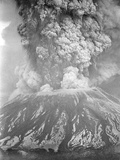 Mount St Helens Sends a Plume of Ash  Smoke and Debris Skyward