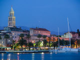Night View  Split  Croatia