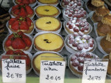 Pastries in Shop Window  Paris  France