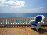 Wicker Chair and Tiled Terrace at the Hornet Dorset Primavera Hotel  Puerto Rico