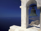 Panagia Kalamiotissa Monastery Bell Tower  Cyclades Islands  Greece