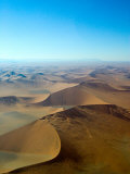 Aerial View of Soussevlei Sand Dunes  Namibia
