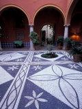 Courtyard of Parador  Luxury Hotel  Arcos de la Frontera  Spain