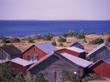 Boathouses of the Aland Islands  Finland