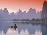 Cormorant Fisherman on Li River  China