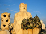 Antonio Gaudi&#39;s La Pedrera  Casa Mila  Barcelona  Spain