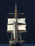 Spirit of New Zealand Tall Ship  Marlborough Sounds  South Island  New Zealand