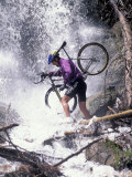 Mountain Biking  Vail  Colorado  USA