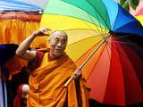 Le dalaï-lama Papier Photo