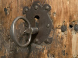Key Lock  Vogo Stave Church  Vagamo  Norway