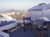 View Toward Caldera  Imerovigli  Santorini  Greece
