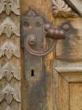 Old Door Handle  Ceske Budejovice  Czech Republic