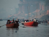 The Ganges River in Varanasi  India