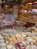 Cheese and Wine Variety in Shop  Paris  France