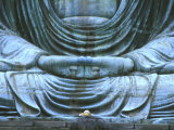 Great Buddha Detail  Kotokuji Temple  Kamakura  Japan