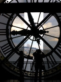 Musee d&#39;Orsay&#39;s Clock Window  Paris  France
