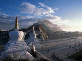 Potala at Sunrise  Lhasa  Tibet