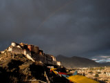 Potala at Sunset  Lhasa  Tibet