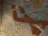 God Thoth Purifying Hetsheput at the Karnak Temple  Egypt