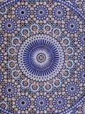 Zellij (Geometric Mosaic Tilework) Adorn Walls  Morocco